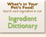 Ingredient Dictionary